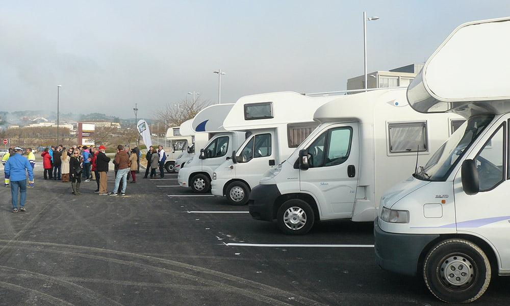 Nueva área de autocaravanas en Zaragoza