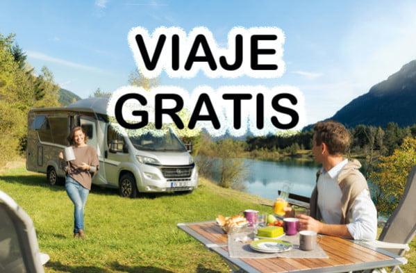 Viajar gratis en autocaravana por Europa