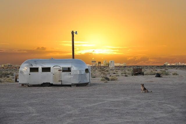 Viajar en caravanas está de moda en España