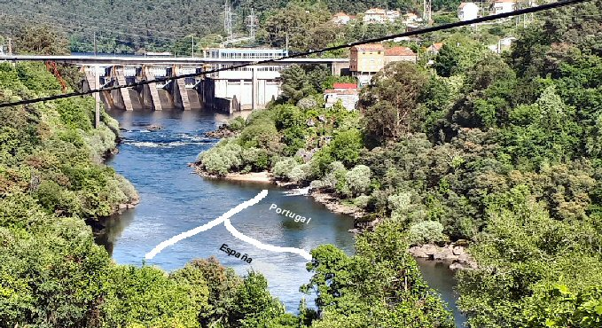 Caos en la ribera del río Miño, urge acondicionar un área de autocaravanas